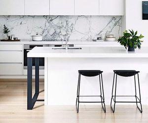 kitchen, decor, and white image