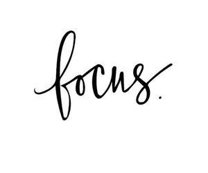 focus and quotes image