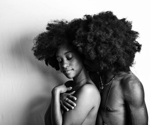 africa, curly, and pretty image