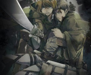 shingeki no kyojin, attack on titan, and jean image