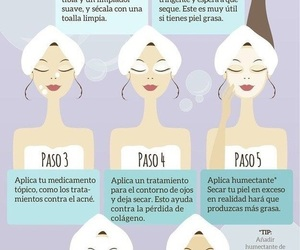 tips, face, and skin image