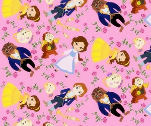 disney, wallpaper, and beauty and the beast image