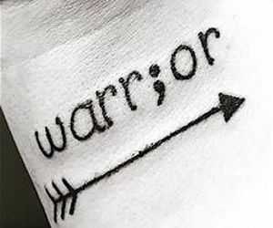 tattoo, warrior, and arrow image