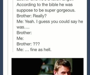 funny, supernatural, and tumblr image