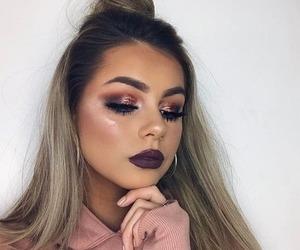 makeup, eyeshadow, and hairstyle image