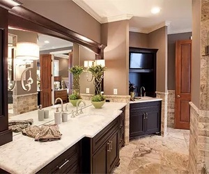 house, luxury, and bathroom image