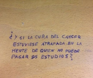cancer, frases, and study image