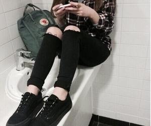 grunge, tumblr, and black image