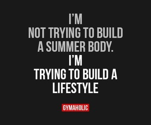 gym, fit, and fitness image