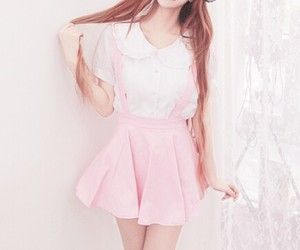 fashion, pink, and cute image