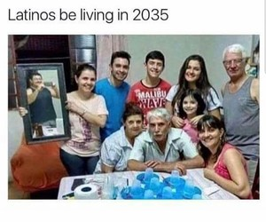 funny, family, and picture image