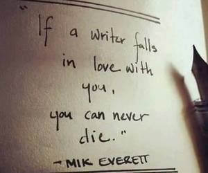 writer, quotes, and love image