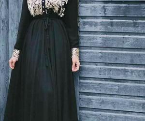hijab, hijab fashion, and hijab style image