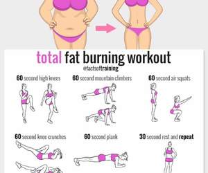 abs, healthy, and workout image
