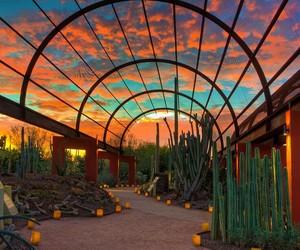 arizona, beautiful, and clouds image