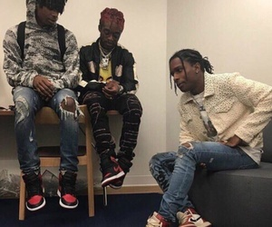 gang, asaprocky, and ghetto image