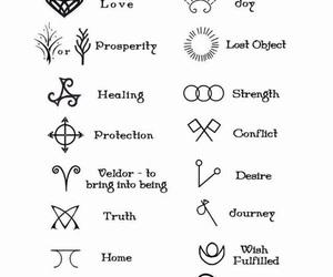 symbol and tattoo image