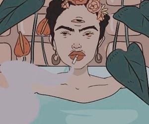 art, bath, and cartoon image