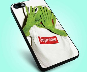 frog, supreme, and kermit image