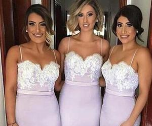 bridesmaid dress, long bridesmaid dresses, and sexy bridesmaid dresses image