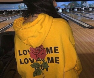 yellow, rose, and aesthetic image