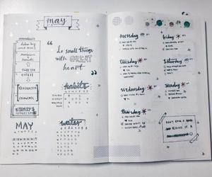 школа, bullet journal, and учеба image