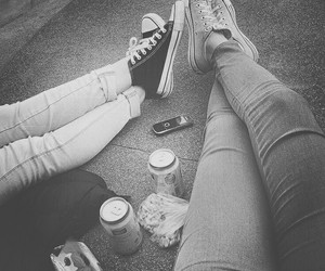 allstar, best friends, and converse image