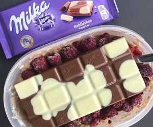 milka and chocolate image