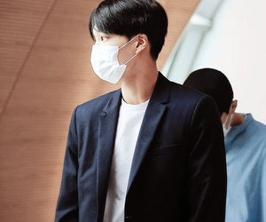 airport, black hair, and exo k image