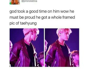 meme, bts, and taehyung image
