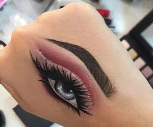 art, makeup, and beauty image