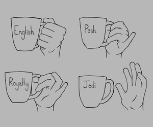 jedi, tea, and english image