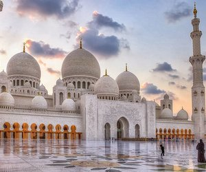 mosque, UAE, and masjid image