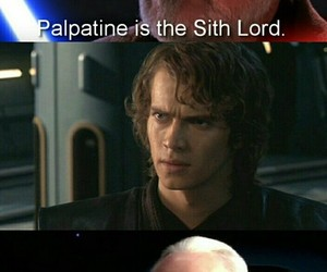 Anakin Skywalker, funny picture, and jedi image