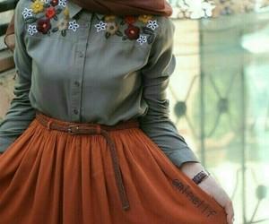 hijab, fashion, and girl image