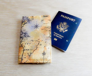 etsy, passport case, and passport cover image