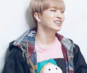 cuteness, wallpaper, and youngjae image
