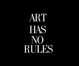 art, rules, and black and white image