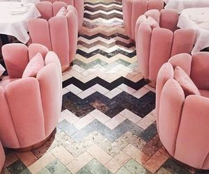 pink and interior image