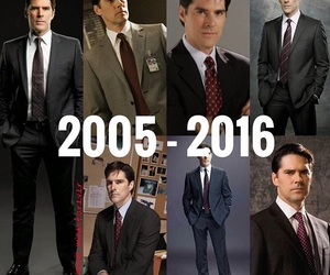 criminal minds, hotch, and hotchner image