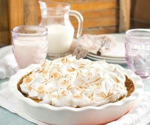lime, meringue, and pie image