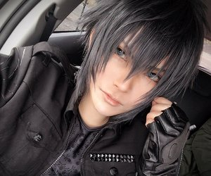 cosplay, final fantasy, and noctis image