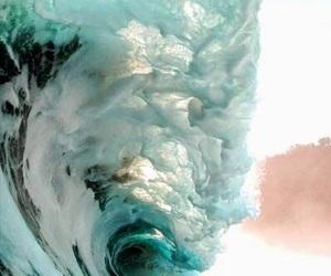 big wave, 🌊, and ocean image