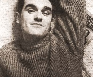 80s, the smiths, and morrissey image