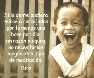 sonrisa, vivir, and osho image