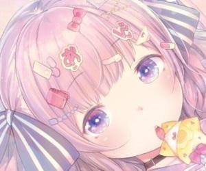 女の子, かわいい, and サムネ image