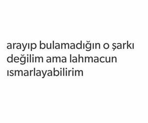 tumblr, lahmacun, and türkçe sözler image