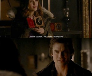 the vampire diaries, vampire, and elena gilbert image