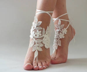 etsy, wedding shoes, and beach wedding image