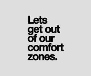 quote, comfort, and comfort zone image